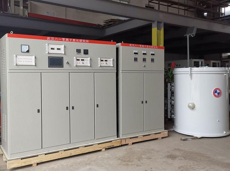 高频脉冲电源辅助加热离子氮...