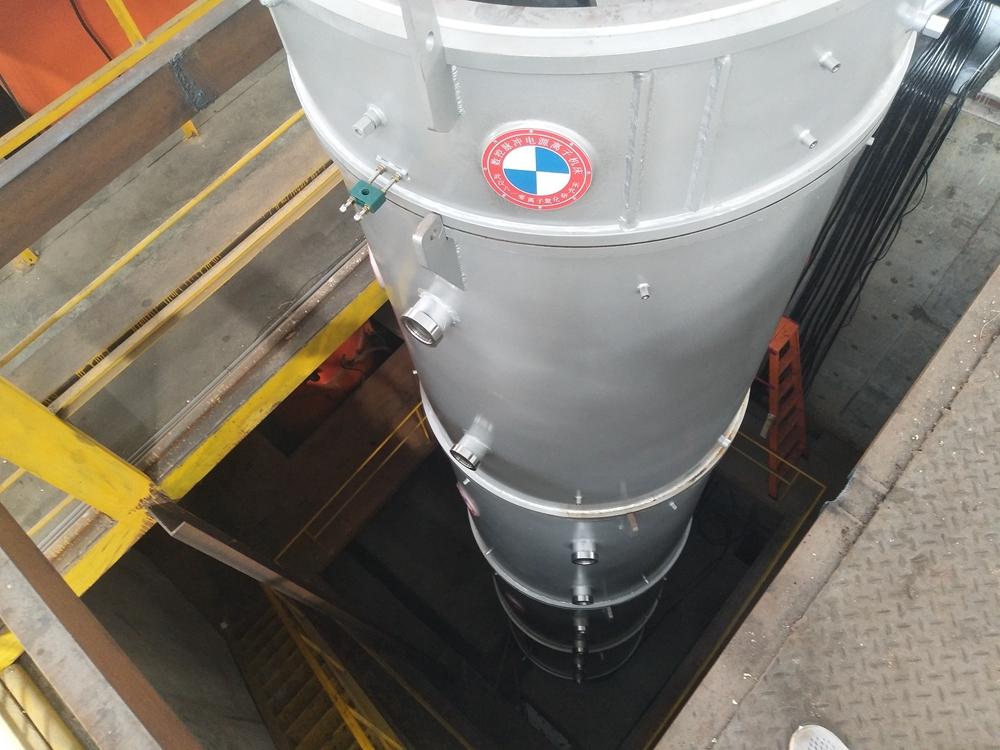 八一零12米深高频井式离子氮化炉