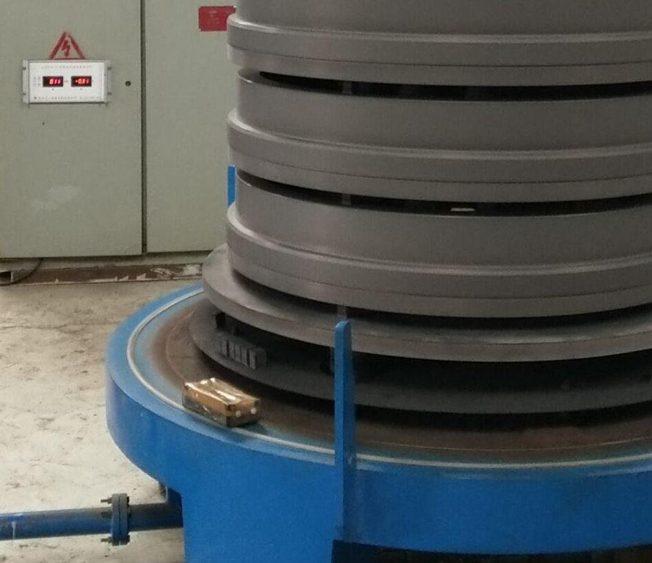 风电轴承挡圈八一零离子氮化效果